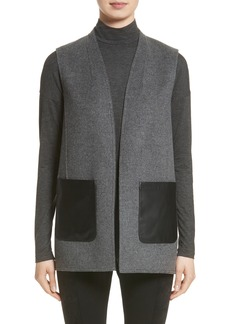 Lafayette 148 New York Nika Wool & Cashmere Reversible Vest (Nordstrom Exclusive)