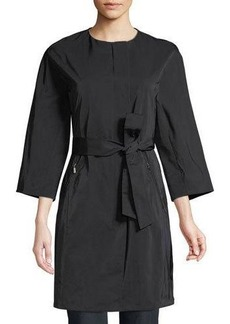 Lafayette 148 New York Nikita Belted Trench Coat