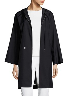 Lafayette 148 New York Niles Hooded Silk Jacket