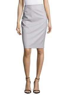 Lafayette 148 New York No-Waistband Pencil Skirt