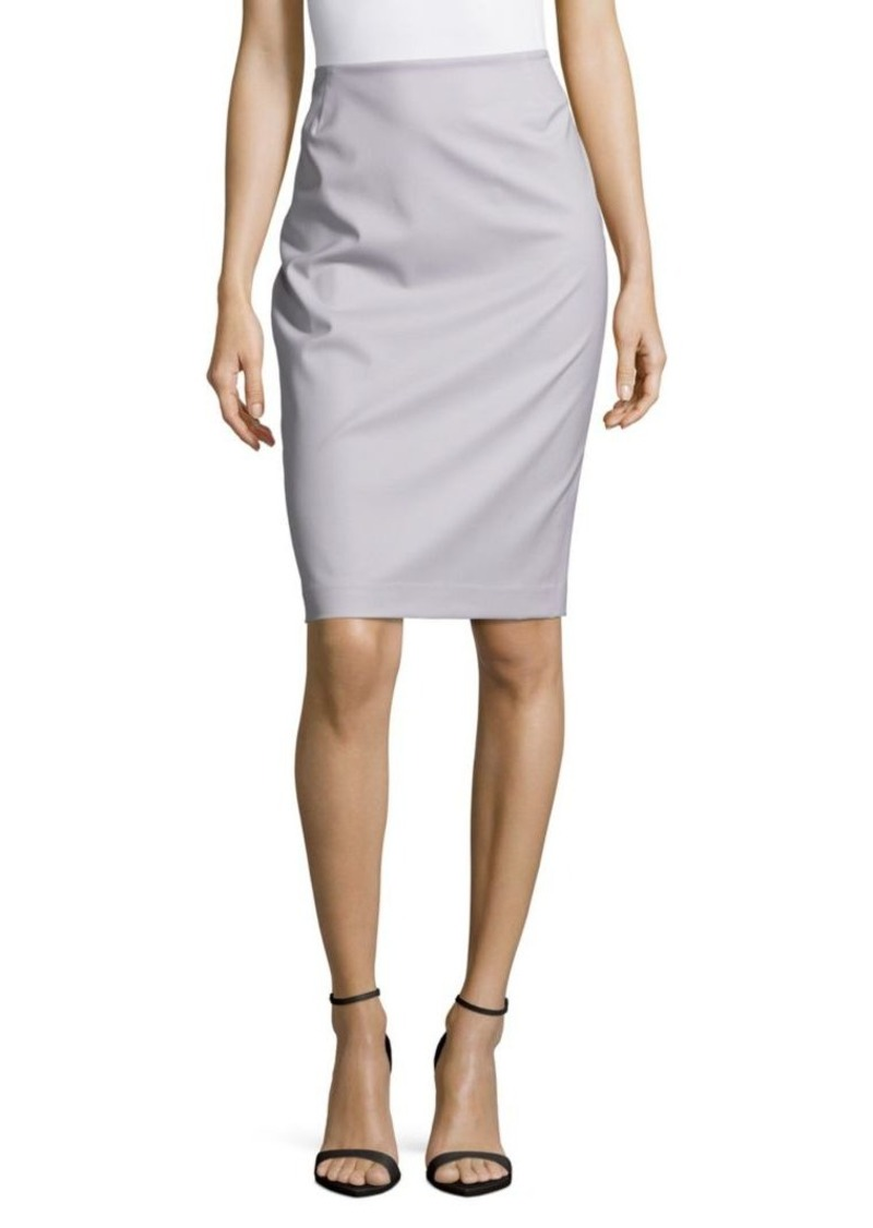 Lafayette 148 No-Waistband Pencil Skirt