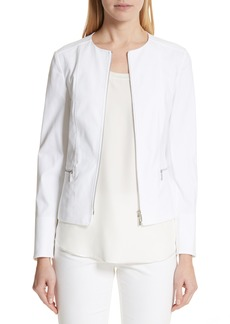 Lafayette 148 New York Noelle Catalina Stretch Jacket