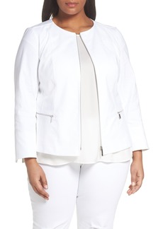 Lafayette 148 New York Noelle Jacket (Plus Size)