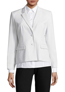 Lafayette 148 Notch Lapel Jacket