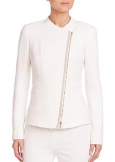 Lafayette 148 New York Nouveau Crepe Austin Wool Jacket