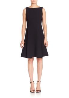 Lafayette 148 New York Nouveau Crepe Nina Wool Dress