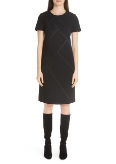 Lafayette 148 New York Nouveau Crepe Shift Dress