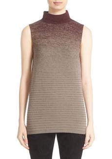 Lafayette 148 New York Ombré Stitch Sleeveless Sweater