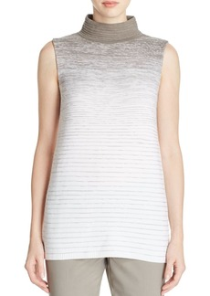 Lafayette 148 New York Ombr� Wool Sleeveless Sweater