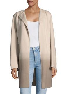 Lafayette 148 New York Ombre Cashmere Coat