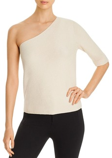 Lafayette 148 New York One-Shoulder Sweater