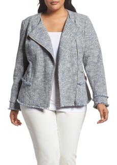 Lafayette 148 New York Owen Tweed Jacket (Plus Size)
