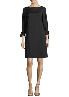 Lafayette 148 New York Paige 3/4-Sleeve Jersey Dress