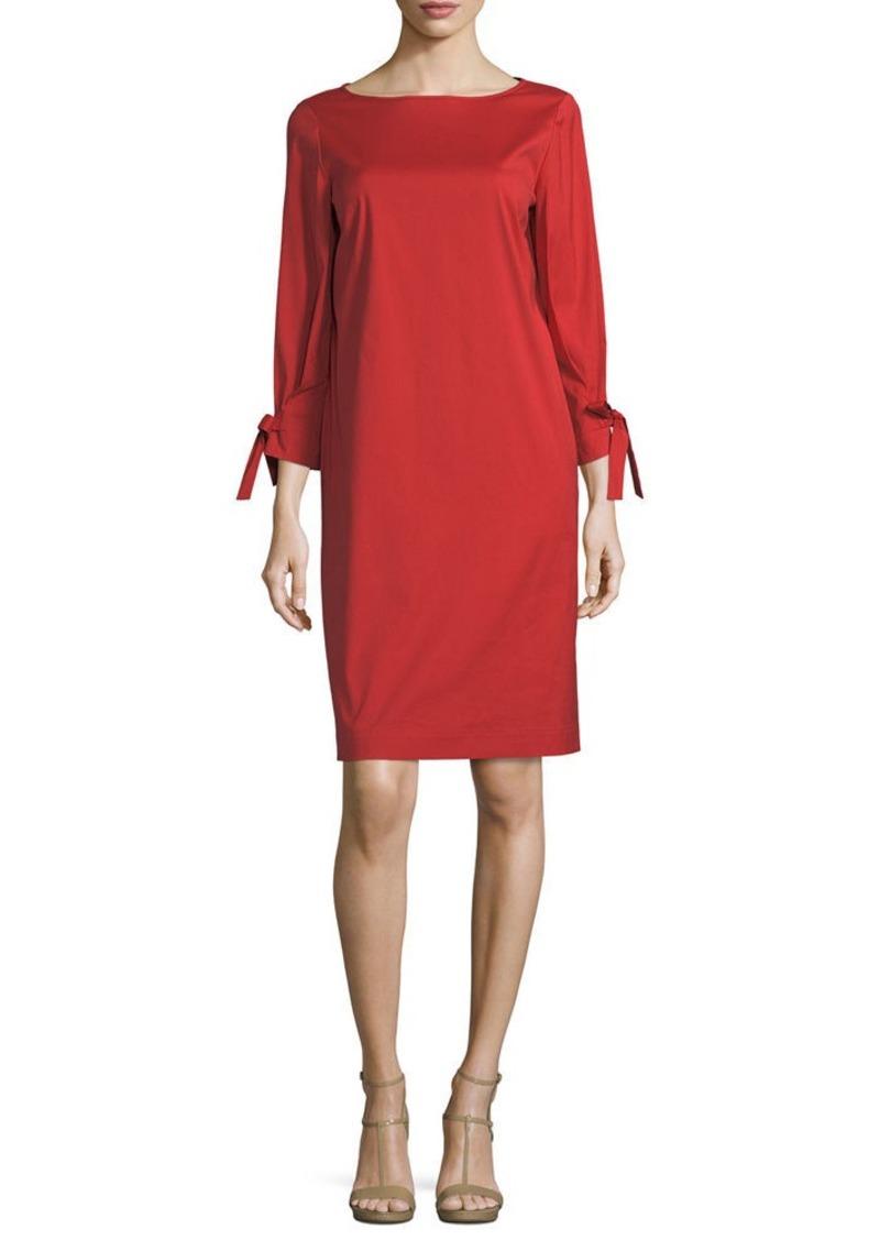 Lafayette 148 New York Paige 3/4-Sleeve Jersey Dress
