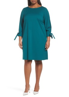 Lafayette 148 New York Paige Shift Dress (Plus Size)