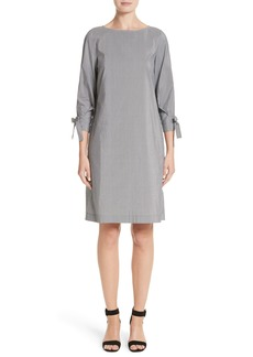 Lafayette 148 New York Paige Stripe Cotton & Silk Shift Dress