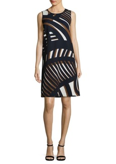 Lafayette 148 Palmer Printed Shift Dress