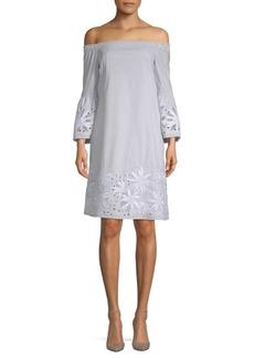 Lafayette 148 New York Palmira Embroidered Dress