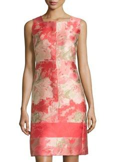 Lafayette 148 New York Pammie Sleeveless Jacquard Dress