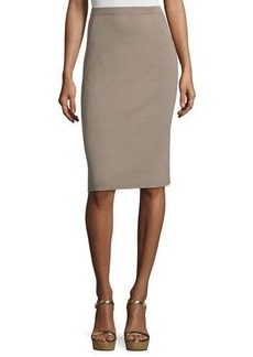 Lafayette 148 New York Paneled Knit Slim Skirt