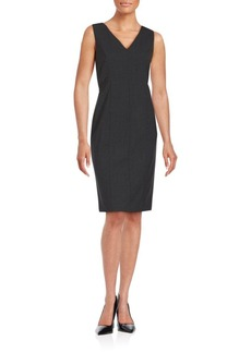 Lafayette 148 New York Paneled Sheath Dress