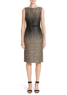 Lafayette 148 New York Paulette Jacquard Sheath Dress