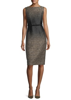 Lafayette 148 New York Paulette Ombré-Print Sheath Dress