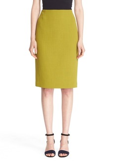 Lafayette 148 New York Pencil Skirt with Back Vent