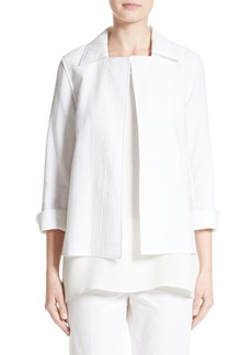 Lafayette 148 New York Phillipe Textured Jacket