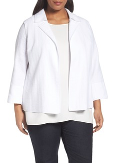 Lafayette 148 New York Phillipe Textured Jacket (Plus Size)