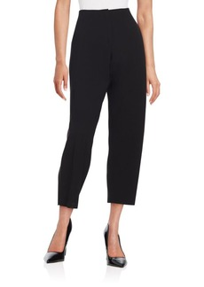 Lafayette 148 New York Pleated Cropped Pants