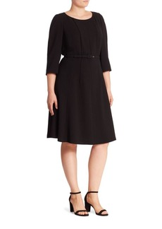Lafayette 148 New York, Plus Size Amalie A-Line Dress