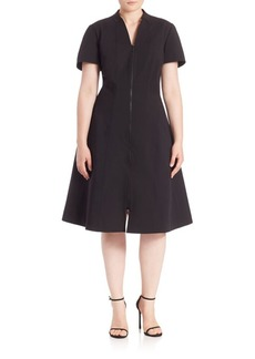 Lafayette 148 New York, Plus Size Briella A-Line Dress