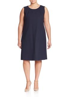 Lafayette 148 New York, Plus Size Ester Shift Dress