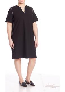 Lafayette 148 New York, Plus Size Ezra Crepe Shift Dress