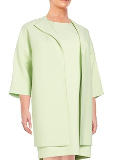 Lafayette 148 New York, Plus Size Mary Open-Front Jacket