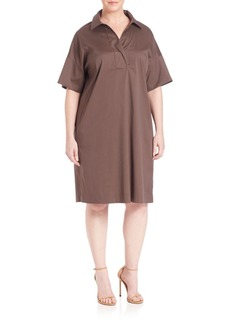 Lafayette 148 New York, Plus Size Mitra Shirtdress