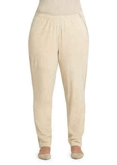 Lafayette 148 New York Plus Track Pants W/ Piping