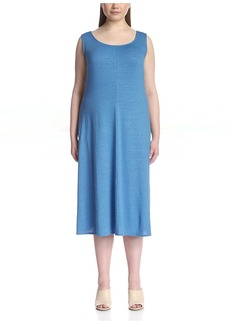 Lafayette 148 New York Plus Women's Long Tank Dress