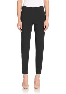 Lafayette 148 New York Ponte Milno Clean-Finish Slim Pants