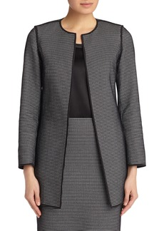 Lafayette 148 New York Pria Check Jacket