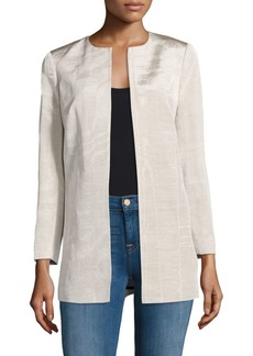 Pria Open Front Jacket