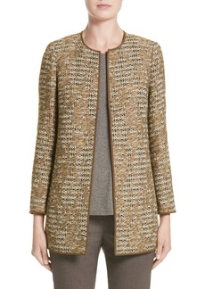 Lafayette 148 New York Pria Tweed Jacket (Nordstrom Exclusive)
