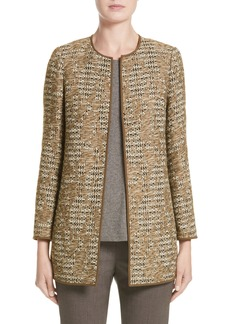 Lafayette 148 New York Pria Tweed Jacket (Nordstrom Exclusive)