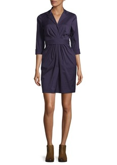 Lafayette 148 Printed Jersey Dress