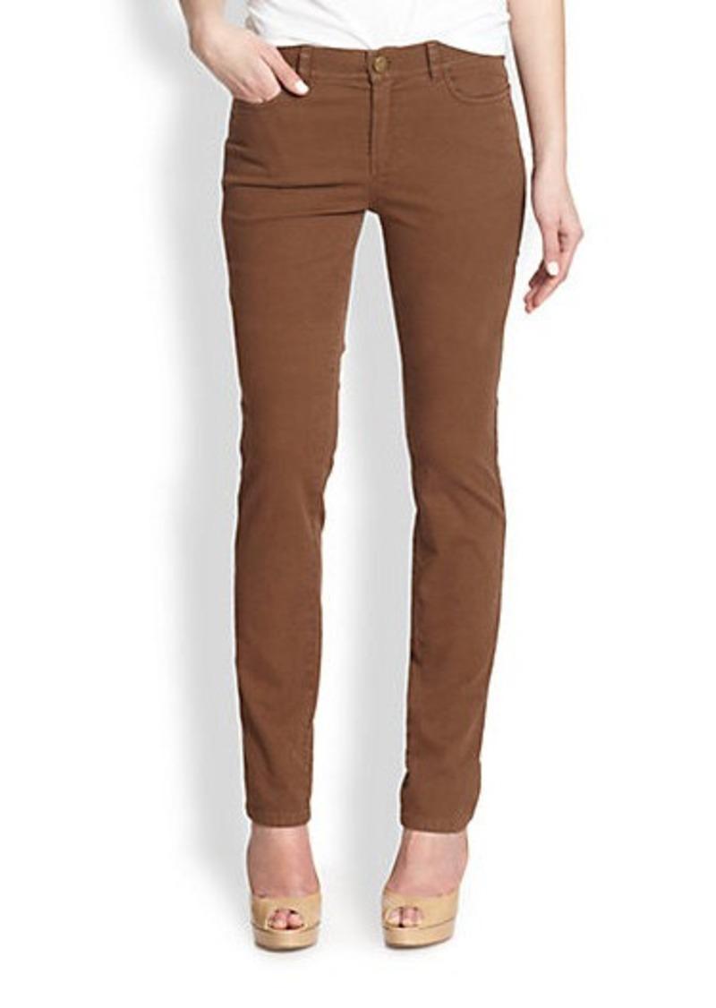 Lafayette 148 New York Printed Skinny Jeans