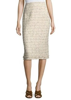 Lafayette 148 New York Priscilla Tweed Pencil Skirt