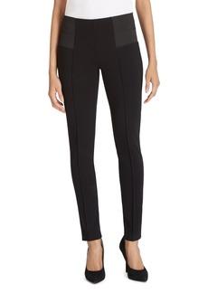 Lafayette 148 New York Punto Milano Pintuck Skinny Pants