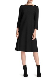 Punto Milano Shift Dress
