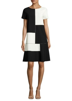 Lafayette 148 New York Rafaella Colorblock Dress